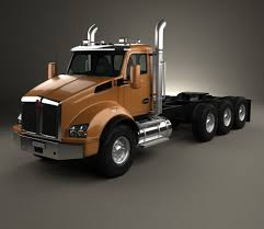 2015 kenworth dump truck kenworth t880 dump truck 6 axle 2013 3d model hum3d