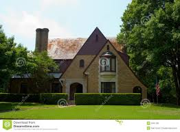Tudor Style House Tudor Style House Royalty Free Stock Photo Image 2461185