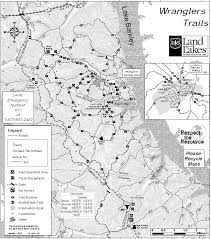 lbl map land between the lakes national recreation area wranglers c