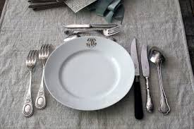 how to set a table with silverware tongue in cheek french silverware