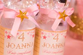 twinkle twinkle party supplies water bottles from a twinkle twinkle birthday party