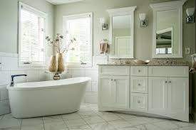 Vanity Tub Serene Bathroom With Freestanding Tub Robin U0027s Nest Interiors
