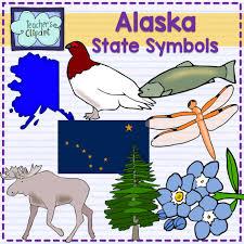 Alaska travel symbols images Alaska state symbols clipart alaska and symbols jpg