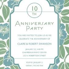 anniversary party invitations best simple 50th wedding anniversary invitations sle and brown