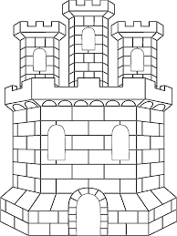 architecture coloring pages 1