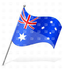 icon of wavy flag of australia vector image 38799 u2013 rfclipart