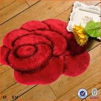 buy 3d silk flower shaggy carpet rugs in china on alibaba com