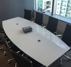 Boat Shaped Boardroom Table Modern Boat Shaped Custom Conference Tables In Many Finishes