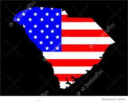 South America Flags South Carolina Map Flag Stock Illustration I1291049 At Featurepics