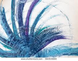 Windart Abstract Blue Purple White Color Motion Stock Illustration