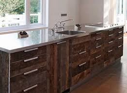 unique reclaimed wood kitchen cabinets taste