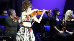 violin overture by cameron nightmare before live