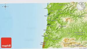 physical 3d map of otis