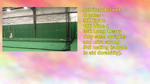 fortress 35 u0027 ultimate baseball batting cage youtube