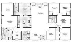 awe inspiring 6 bedroom manufactured home floor plans 7 triple