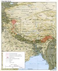 Map Of Nepal And Tibet by Nationmaster Maps Of India 39 In Total