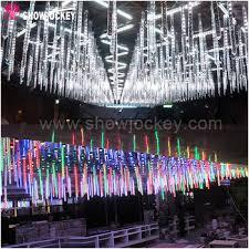 multi color led meteor light stick for christmas tree buy led