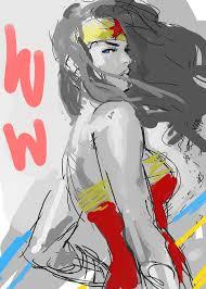 lost my phone wonder woman sketch by kandoken on deviantart