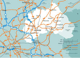 map of oldham oldham council refining options a report appendix 2