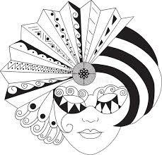 black and white mardi gras masks mardigras mask stock vector illustration of blackandwhite