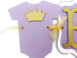 gold baby shower decorations princess baby shower banner in lavender and gold purple and gold