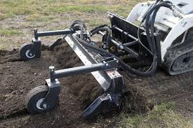 quick power scape mini power tiller leveler soil conditioner