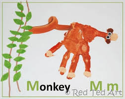22 fun monkey crafts parties and printables for kids tip junkie