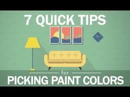 7 tips to picking paint colors youtube