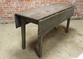 Oak Drop Leaf Table Drop Leaf Tables Built To Order From Reclaimed Wood Drop Leaf