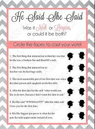 bridal shower question printable bridal shower gameshacksfree
