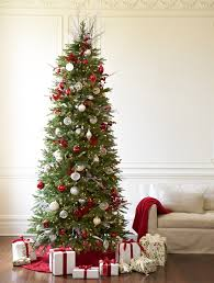 buy red spruce slim artificial christmas trees online balsam