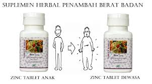 suplemen herbal penambah berat badan terbaik