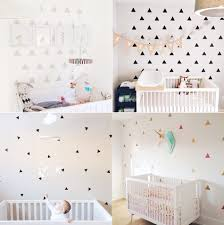 Baby Nursery Wall Decals by Decals Triangle Nurseries Wee Ones Pinterest Triangles