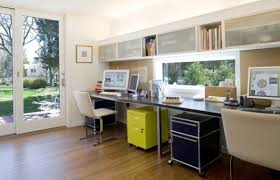 Interior Design Ideas For Office Space 30 Shared Home Office Ideas That Are Functional And Beautiful