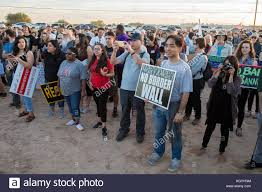 Seeking Usa Eloy Arizona Usa 10th Nov 2017 A Rally And Vigil At The Eloy
