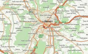 map of rouen rouen weather forecast