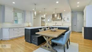 kitchen island with table built in kitchen island booth kitchen island with built in seating bench and