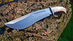 猟刀 big bowie knife tak fukuta grizzly i tak blades messer