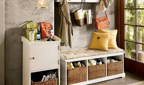 wood entryway storage bench with coat rack cozy entryway storage