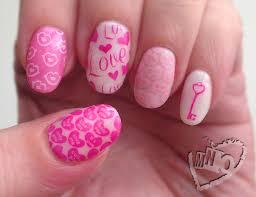 mno valentine stamp nail art elite99 1422 swatch