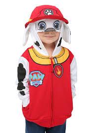 Hoodie Halloween Costumes Kid U0027s Marshall Paw Patrol Costume Hoodie