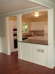 best 25 half wall kitchen ideas on pinterest kitchen open to