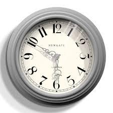 terrific gray wall clock 4 large grey kitchen wall clock stratton