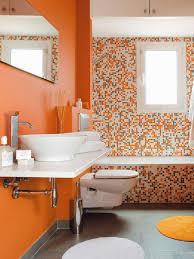 orange bathroom ideas teoría color v naranja y amarillo patri blanco