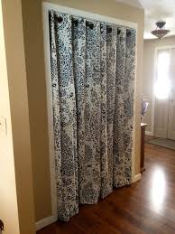 Sliding Drapes Best 25 Closet Door Curtains Ideas On Pinterest Room Door