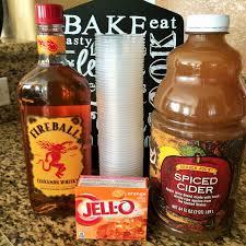 fireball jello shots socal mommy