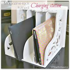 chic homemade charging station 132 diy ipad charging station