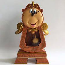2010 disney store lumiere cogsworth sketchbook ornament