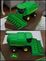 john deere combine cake for 4th birthday grayson birthday party