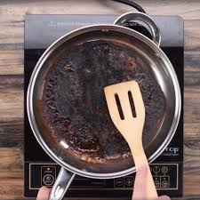 how to clean a scorched pan popsugar smart living